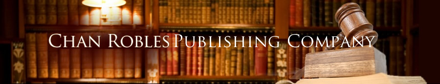 CHANROBLES PUBLISHING